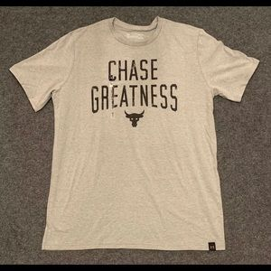 Under Armour Project Rock Chase Greatness Shirt